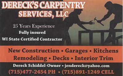 Dereck's Carpentry Services, LLC